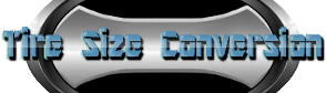 tire size conversion logo