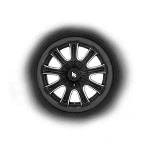 1977 Mercedes-Benz 300D Wheel