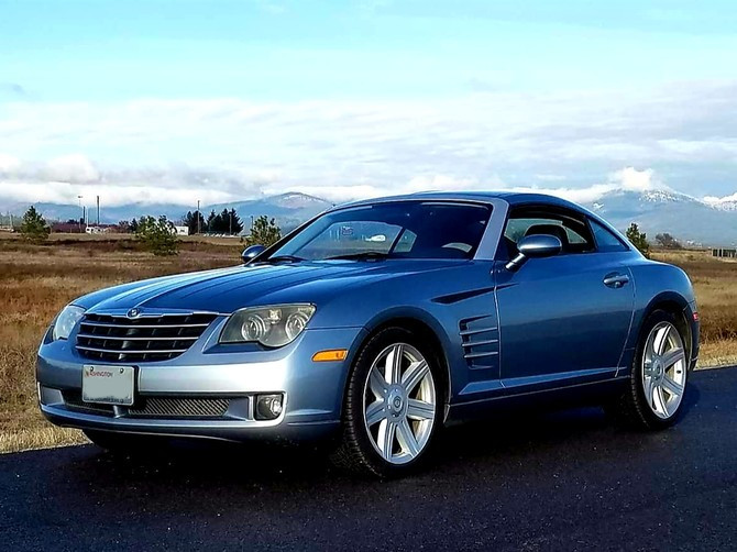 2004 Chrysler Crossfire Coupe Continental ExtremeContact DWS 06 225/55R19 (5049)
