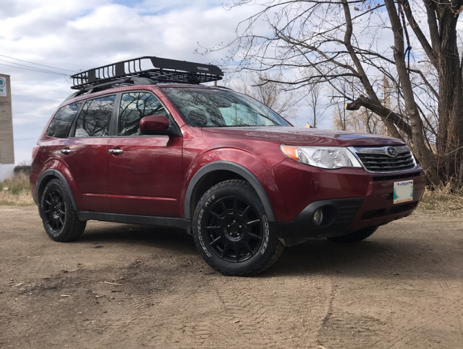 2009 Subaru Forester 2.5 X Limited Cooper Discoverer AT3 4S 215/65R17 (4257)