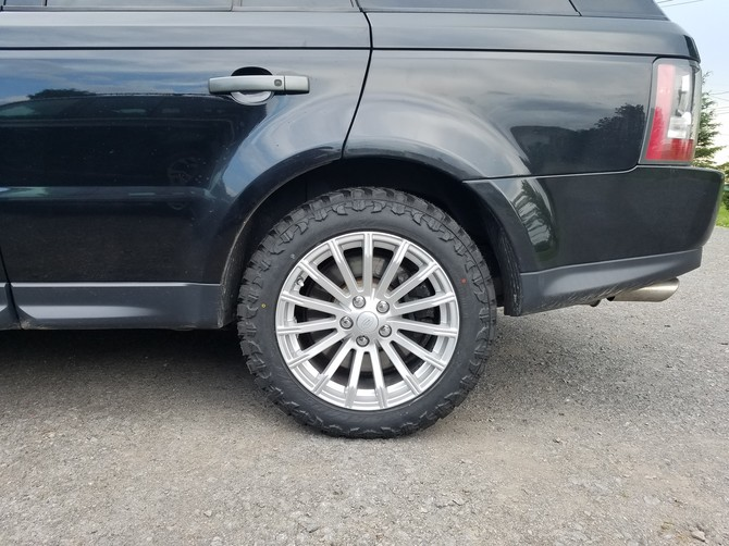 2012 Land Rover Range Rover Sport Supercharged Atturo Trail Blade M/T 255/55R19 (4586)