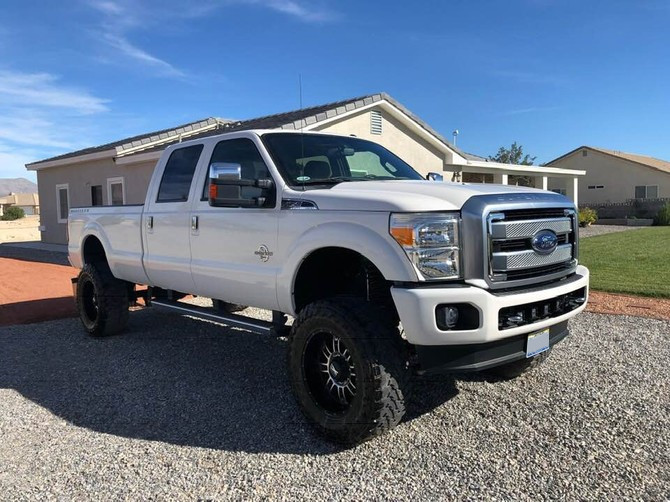 2014 Ford F350 4wd Single Rear Wheel Super Cab Toyo Open Country M/T 37/13.50R20 (5076)