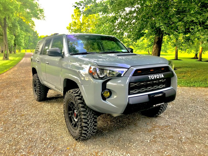 2017 Toyota 4runner Trd Pro Yokohama Geolandar M T G003 285 70r17 3273