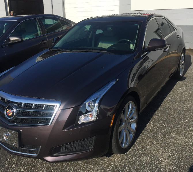 2014 Cadillac ATS 2.0L Turbo RWD Luxury Michelin Primacy MXM4 225/40R18 (3276)
