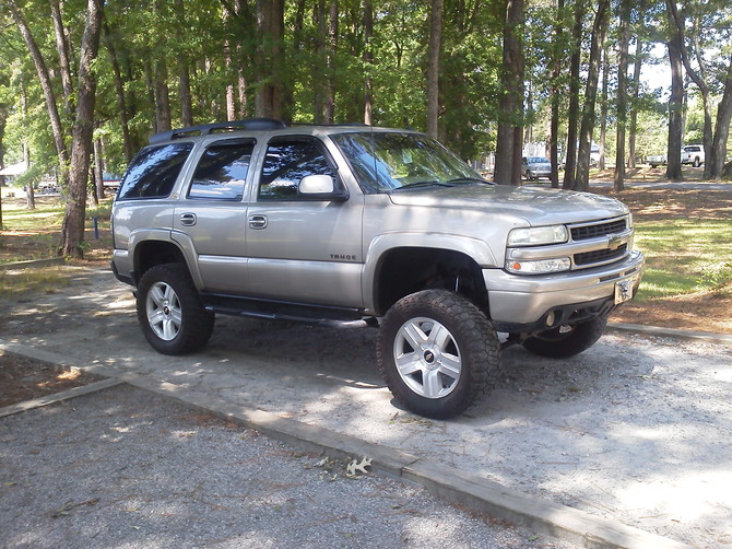 2003 Chevrolet Tahoe 4Wd Dick Cepek Fun Country 35/12.50R20 (812)