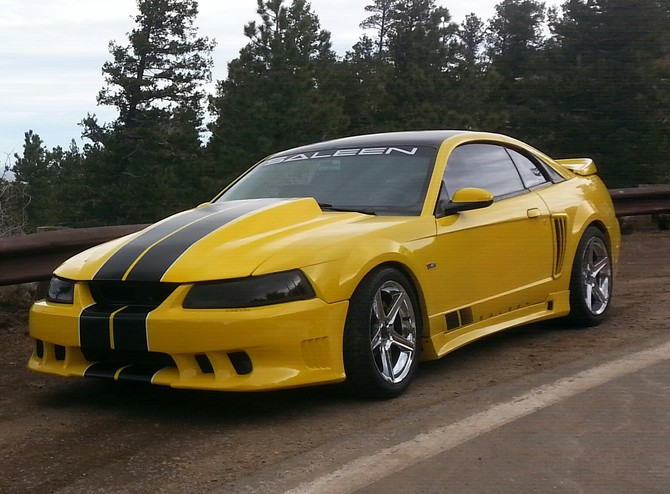 1999 Ford Mustang Saleen S281 BFGoodrich g-Force T/A KDW 295/30R18 (1425)