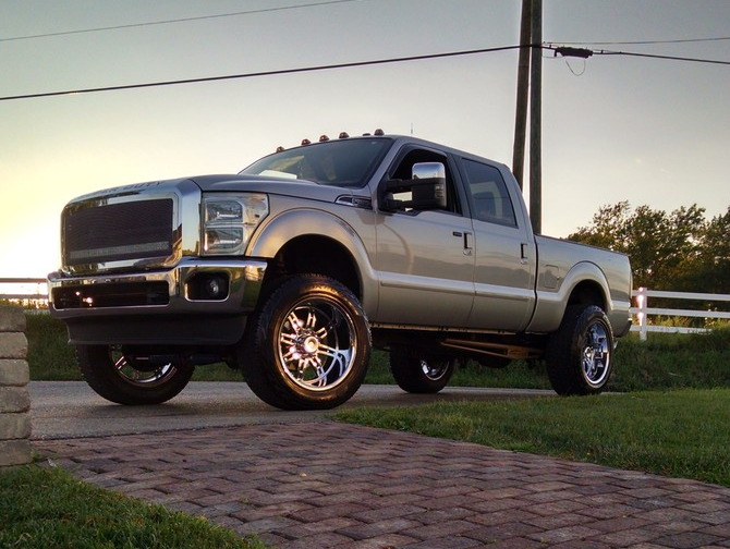 Andy's 2012 Ford F250 Lariat 4X4 Crew Cab