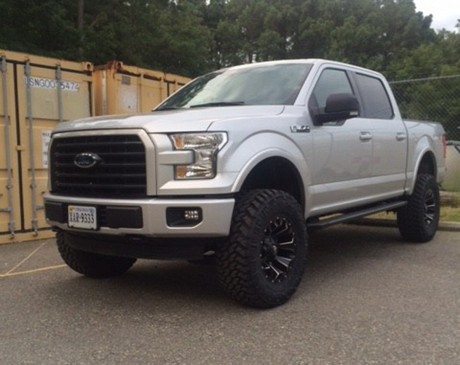 Anthony S 2015 Ford F150 4wd Supercrew