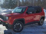 Arvin's 2017 Jeep Renegade Trailhawk