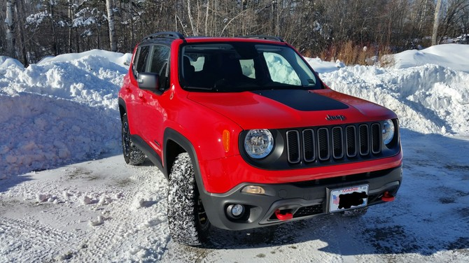 2017 Jeep Renegade Trailhawk BFGoodrich All-Terrain T/A KO2 225/65R17 (2957)