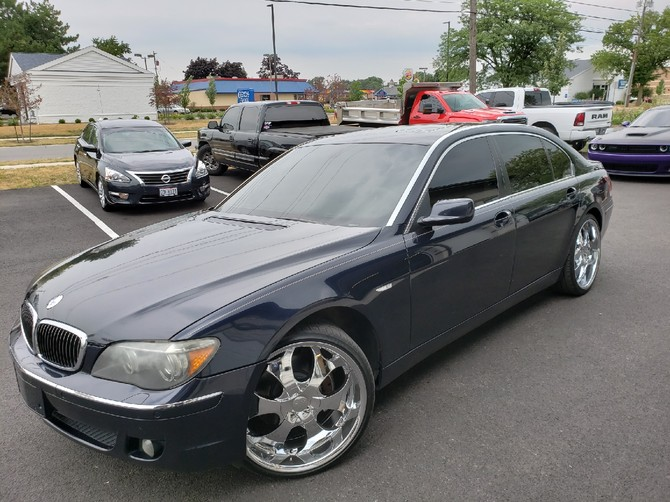 2006 BMW 750Li With Standard Tires Nexen N5000 Plus 265/30R22 (3317)