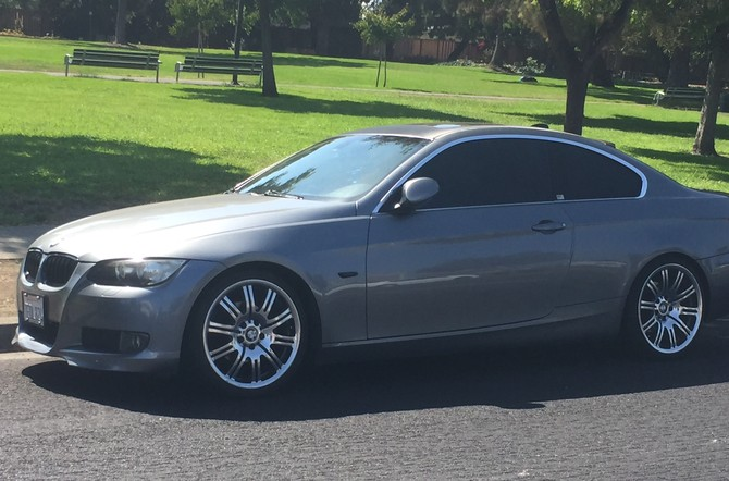 2007 BMW 328i Coupe Sport Package Continental ContiSportContact 255/35R19 (3422)