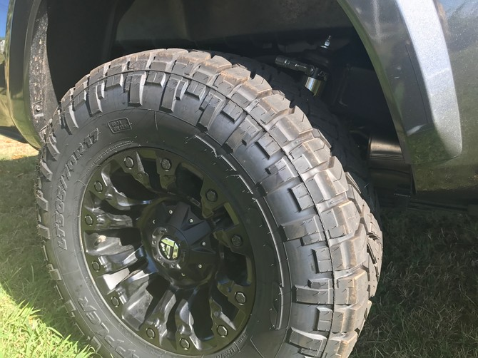 31x10 50r15 Tires >> BWT's 2017 Toyota Tacoma Access Cab