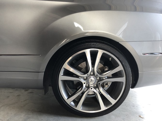 2012 Mercedes-Benz E350 Coupe Bridgestone Potenza RE970AS Pole Position 245/35R19 (4640)