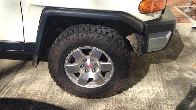 Tire Size Meaning >> Big_HeroFJ's 2010 Toyota FJ Cruiser Base Model