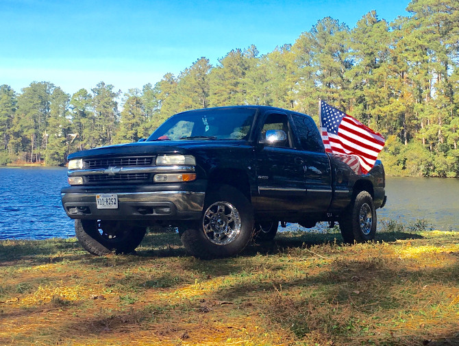 1999 Chevrolet Silverado 4Wd Nitto Terra Grappler G2 305/70R17 (2243)
