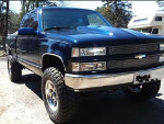 Blue-E's 1994 Chevrolet K1500 4wd Pick-up