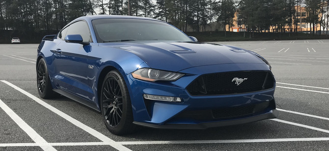 2018 Ford Mustang Fastback GT Performance Pkg Michelin Pilot Sport 4S 275/40R19 (4026)