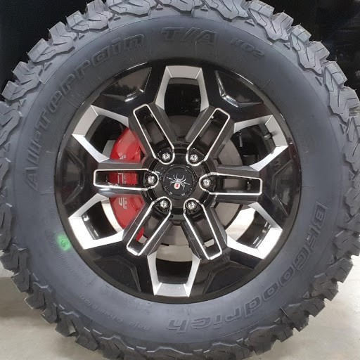 2018 Ford F150 4wd SuperCrew BFGoodrich All-Terrain T/A KO2 35/12.50R20 (3987)