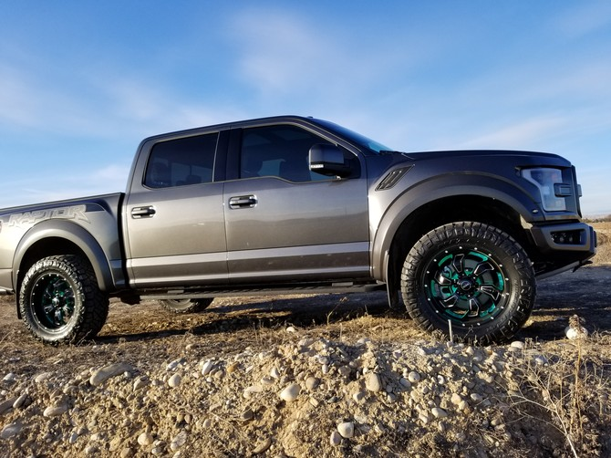 2018 Ford F150 Raptor Nitto Ridge Grappler 35/12.50R20 (4262)