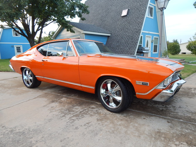 1968 Chevrolet Chevelle SS BFGoodrich g-Force COMP-2 A/S 305/35R20 (2279)