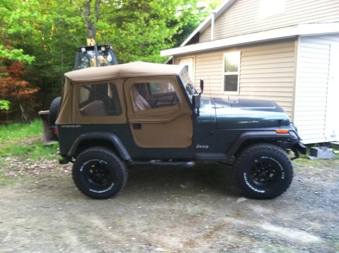 Brett's 1994 Jeep Wrangler Base Model