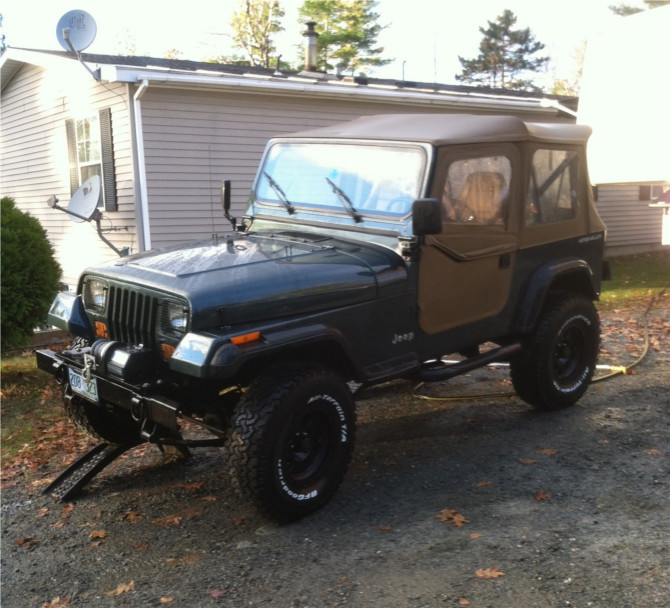 Brett's 1994 Jeep Wrangler Base Model