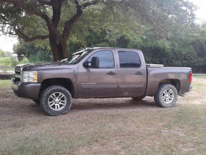 Tire Size Comparison >> Brownie's 2008 Chevrolet Silverado 1500 2wd Crew Cab