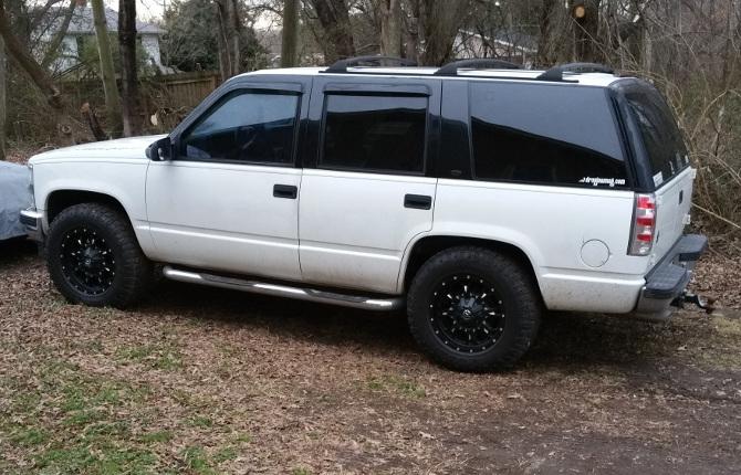 Buck S 1998 Chevrolet Tahoe 4wd