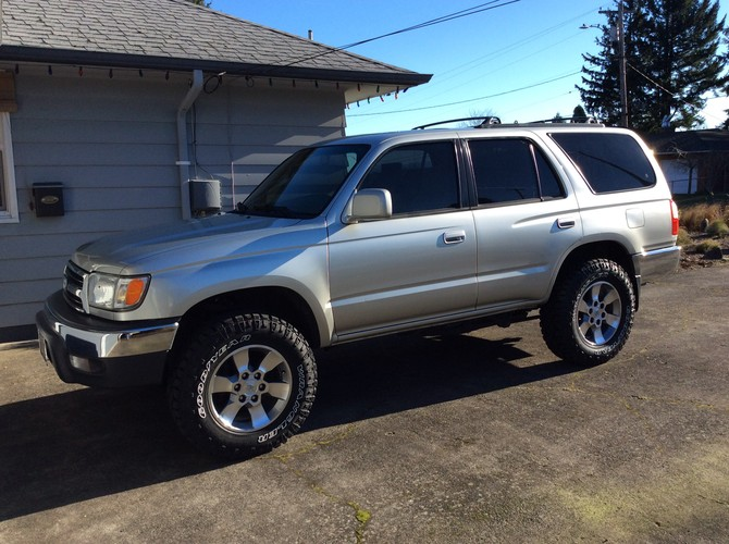 How To Read Tire Size >> CW's 1999 Toyota 4Runner SR5 4wd