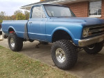 Caboose302's 1967 Chevrolet K10 4wd Pick-up