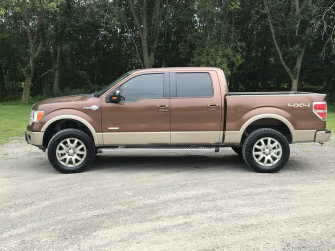 2011 Ford F150 King Ranch 4wd Super Crew Toyo Open Country A/T II 295/65R20 (2605)