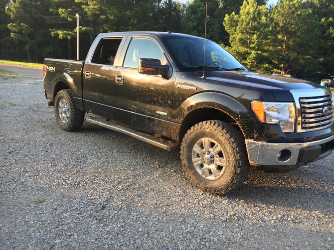 2012 Ford F150 XLT 4wd Super Crew Toyo Open Country M/T 295/70R18 (2599)