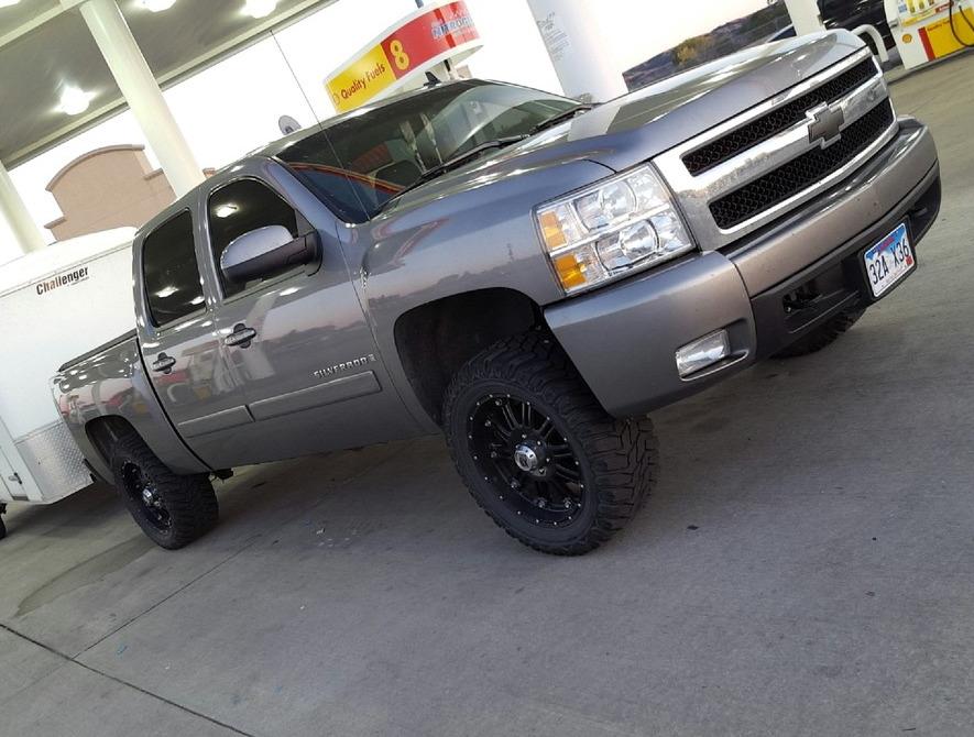 Tire Size Comparison >> Chad's 2008 Chevrolet Silverado 1500 4wd Crew Cab