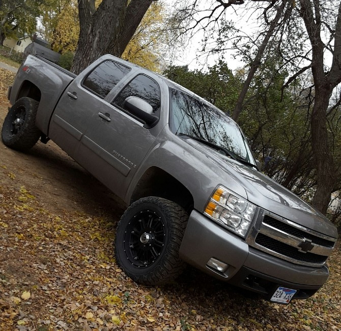 chad 39 s 2008 chevrolet silverado 1500 4wd crew cab. Black Bedroom Furniture Sets. Home Design Ideas