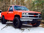 Chevy's 1990 Chevrolet K1500 4wd Pick-up