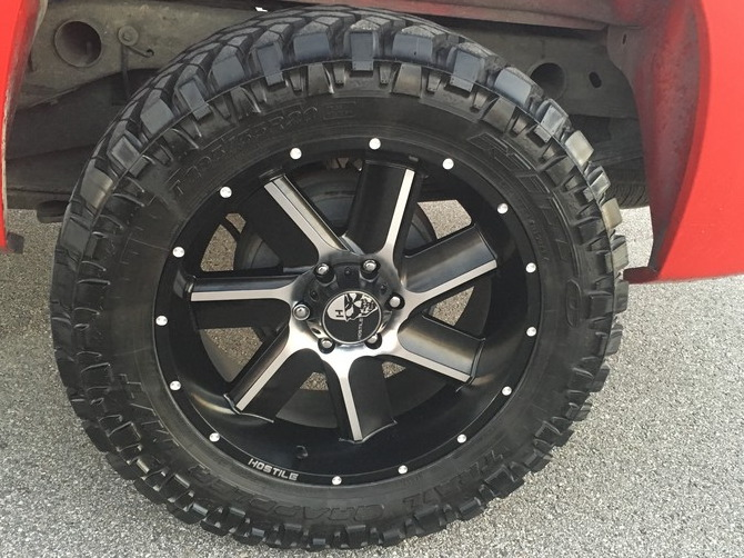 2008 GMC Sierra C1500 Extended Cab Nitto Trail Grappler M/T 295/55R20 (1267)