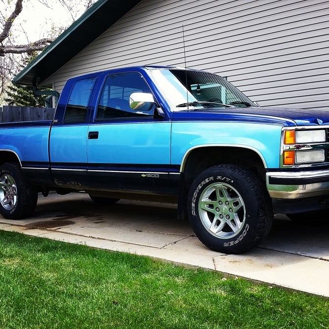 31x10 50r15 Tires >> Cole's 1993 Chevrolet K1500 4wd Pick-up