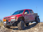 ColoradoFlatbed's 2009 Chevrolet Colorado LT Crew Cab 4wd Z85