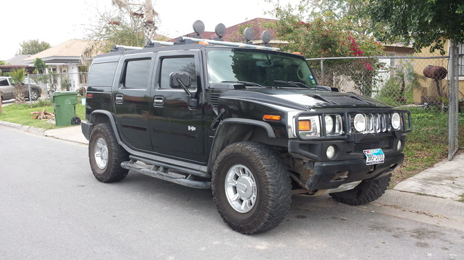 Daniel's 2003 Hummer H2 there really great tires