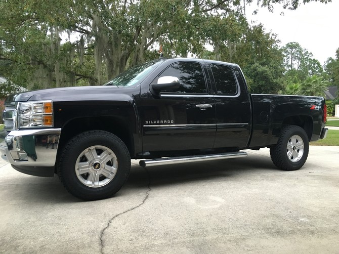 2013 Chevrolet Silverado 1500 4wd Extended Cab General Grabber AT 2 275/70R18 (1642)