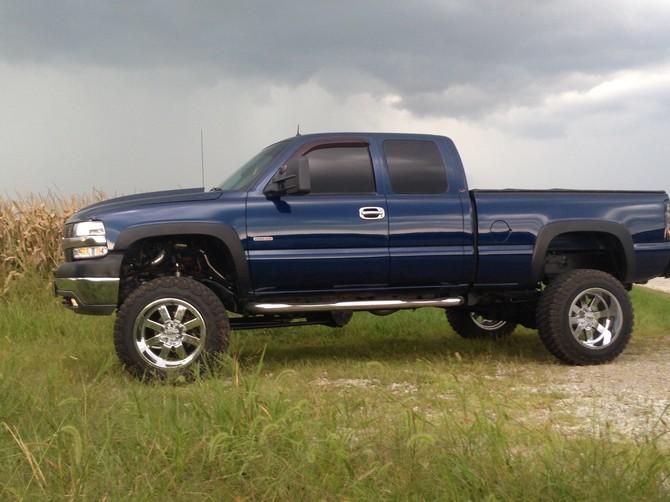 Tire Size Comparison >> Dirtymax's 2002 Chevrolet Silverado 2500HD 4wd