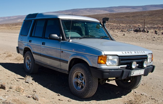 1997 Land Rover Discovery SE Goodyear Wrangler All-Terrain Adventure w/Kevlar 245/70R16 (5263)