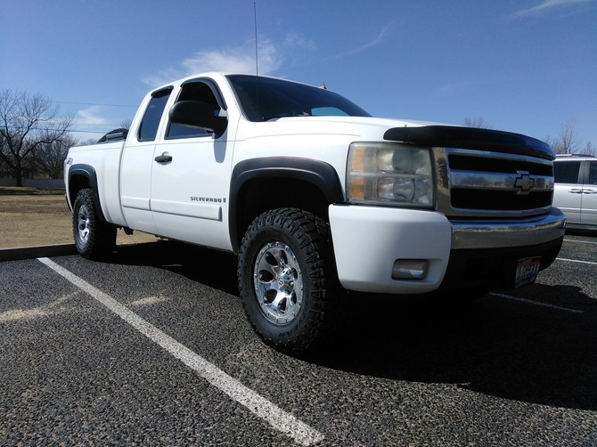 Tire Size Comparison Calculator >> Douk-douk's 2007 Chevrolet Silverado C1500 Extended Cab