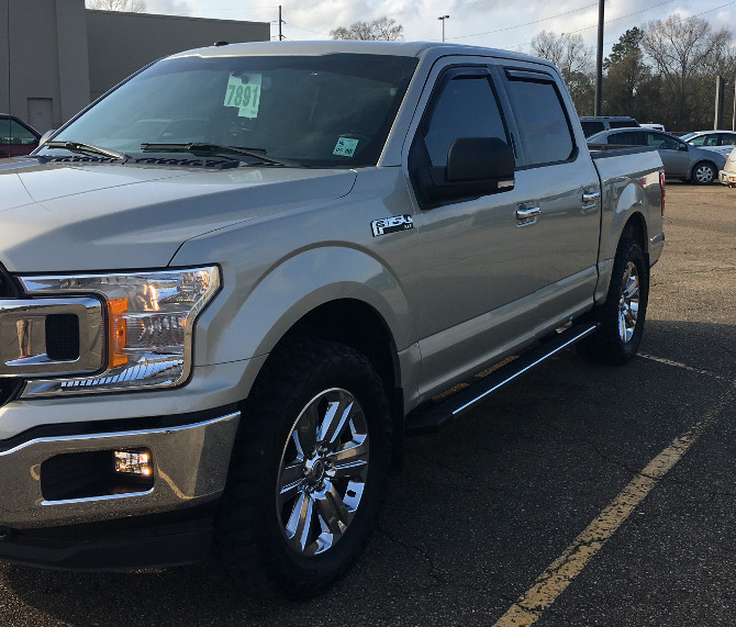 Duce's 2018 Ford F150 4wd SuperCrew