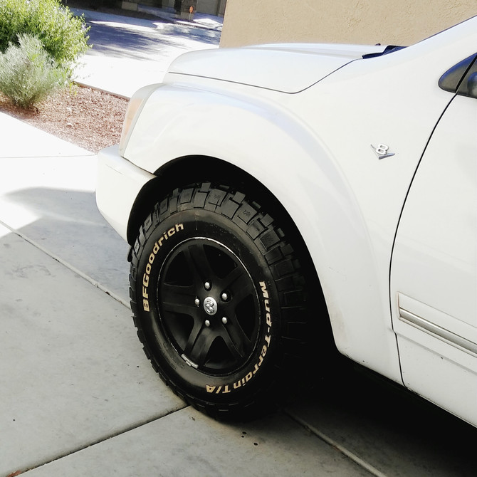 Bf Goodrich Mud Terrain Tires >> Durango_D's 2005 Dodge Durango SLT V8 4wd