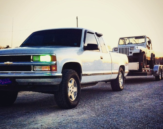 Dustin93's 1996 Chevrolet K1500 Z71 Pick-up