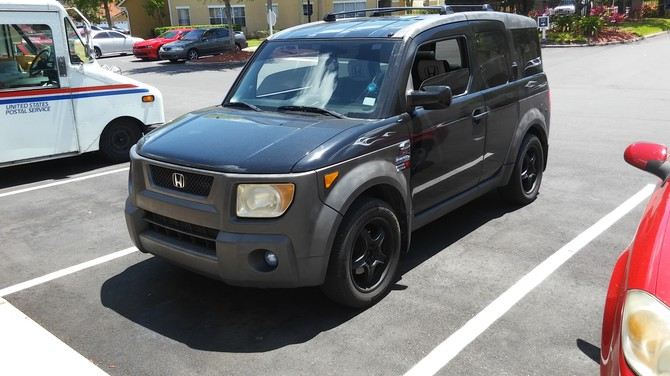 2003 Honda Element DX 4wd General Grabber AW 215 70R16 1494