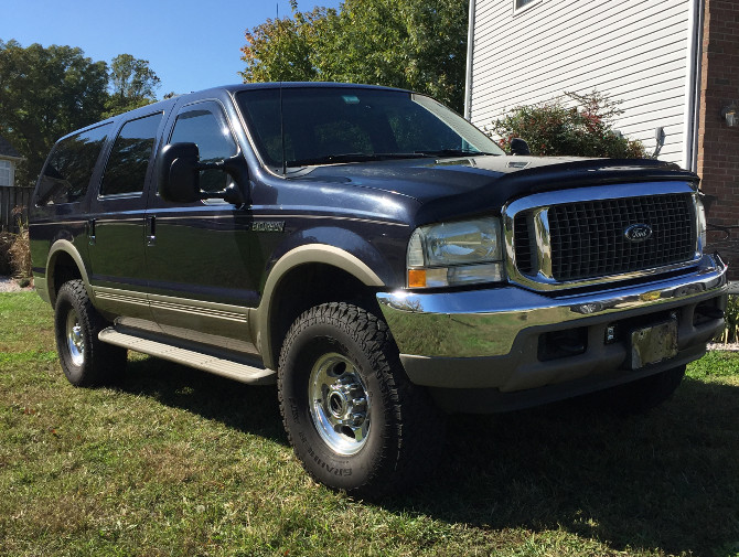 2001 Ford Excursion 4Wd General Grabber AT 2 315/75R16 (2042)