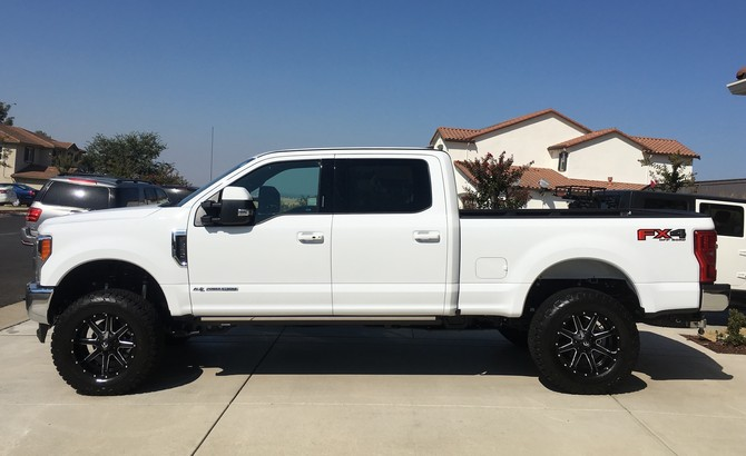 How To Read Tires Size >> F350's 2016 Ford F350 4wd Single Rear Wheel Crew Cab